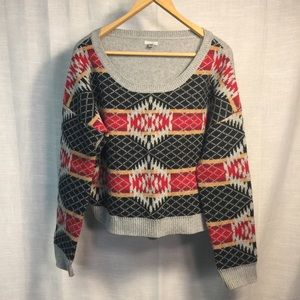 Urban Outfitters Ecote Print Sweater
